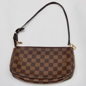 Louis Vuitton Pochette Ebene Brown